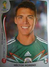 PANINI 75 Hector Moreno Mexico FIFA World Cup 2014 Brasile