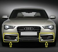 Genuine AUDI A5 (2012-2016) Bumper Fog Light GRILL Pair Set LEFT+RIGHT