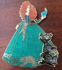 Art Of Merida Brave Disney Princess Fantasy pin LE 50 Cubs Auctions Bears