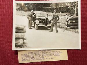 """1940 WWII Original ACME News Photo """"England Prepares For The Worst"""" 5/20/1940"""