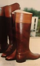 New Custom Equestrian Leather Riding Boots English Dress Boots Handmade Boots.