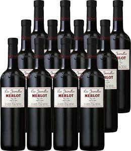 12 Flaschen Les Jamelles Merlot, Vin Pays d´Oc Languedoc 0,75