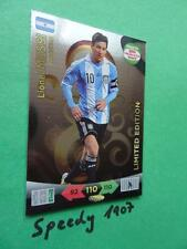 Road to Brazil Limited edition Messi Adrenalyn 14 Fifa World Cup 2014