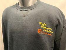 Misfit Motorsports Productions Racing Embroidered Sweat Shirt Men's Size XL