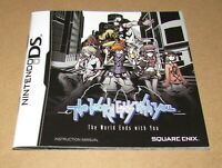 The World Ends With You (Instruction Manual Only) for Nintendo DS