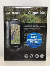 Garmin Oregon 700 Handheld Geocaching GPS + TOPO Germany V8Pro Bundle New