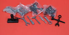 Marx Fix-all & Ideal Reproduction 5 Pc diecast tool & Plastic Jack Lot of 2 Sets