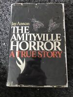 AMITYVILLE HORROR Jay Anson FIRST EDITION 1st Printing 1977 RARE Ex