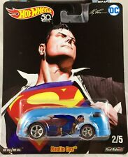 Hot Wheels 1/64 Scale Real Riders Haulin Gas Superman Car FKY26
