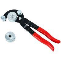 """Brake Pipe Bender Fuel line Tubing Bending Kit 3/16"""" 1/4"""" 5/16"""" 3/8"""" 0-90°"""