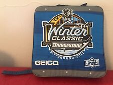 2011 Winter Classic Seat Cushion Clean hockey Penguins NHL Crosby Malkin