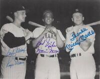 Roger Maris Mickey Mantle NY Yankeessigned 8x10 Photo REPRINT