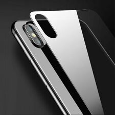 For iPhone X Glass Back Protector Rear glass 9H Tempered glass protective glass