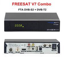 Genuine Freesat V7 Combo FTA DVB-S2/DVB-T2 HD Digital Satellite Receiver PowerVu