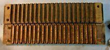 "New listing antique Large 22"" Wooden Cigar Mold Dated 1862 German No 16153 Zwischenahn"