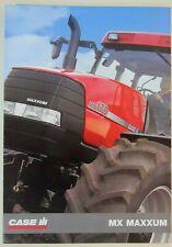 prospectus brochure tracteur CASE IH MX MAXXUM tractor traktor prospekt