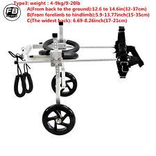 8 Types Cart Pet/Dog Wheelchair To Make Handicapped large Dog/Doggie /Puppy walk
