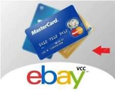 VCC Virtual Credit Card for Ebay Verification Seller