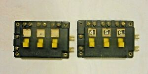 2 HO OR N SCALE ATLAS SWITCH CONNECTORS #205