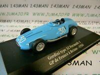 GOR8T Voiture saga GORDINI atlas ELIGOR : GORDINI TYpe 32 formule 1 Reims 1956
