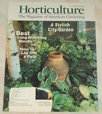 Horticulture Magazine June/July 1996