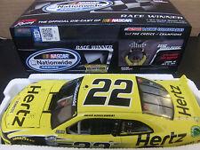 Brad Keselowski 2014 HERTZ New Hampshire Raced Win Mustang 1/24 NASCAR