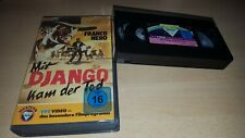 Mit Django kam der Tod (L´uomo, l'orgoglio, la vendetta) Franco Nero - VPS - VHS
