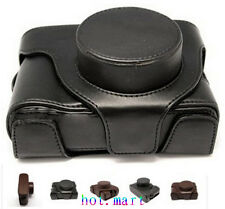 Leather Camera Case Bag Pouch for FUJI FUJIFILM Finepix LC-X100 X100S BLACK