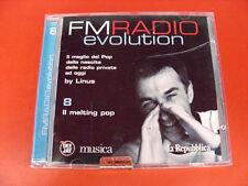 FM Radio Evolution 8 Melting Pop by Linus Radio Deejay DJ CD Musicale