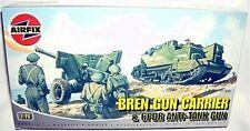 airfix 1/76 WWII NORMANDY BREN CARRIER w/ 6pdr A-T GUN