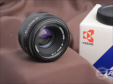 4969-Yashica Auto Focus 50mm f1.8 focale fissa standard-Nuovo di zecca