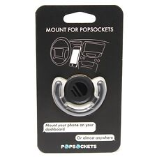 New PopSockets Mount Holder with 3M Adhesive for PopSockets - 201000 - Black