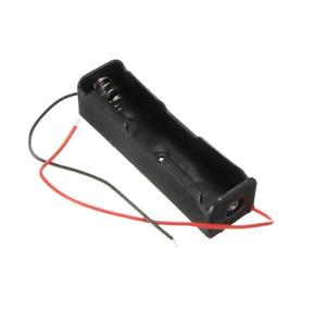 Batteriehalter für 1x 18650 mit Anschlusskabel Akku Halterung Zelle LiIon Li-Ion