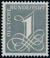 BUND 1958, MiNr. 285 X, tadellos postfrisch, gepr. Schlegel, Mi. 10,-