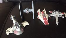 Star Wars Die cast Metal Figures Toys Vintage 1990's Ships