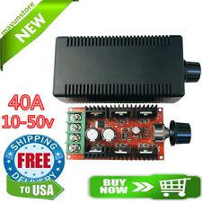 12V 24V 36V 48V 40A 2000W PWM DC Motor Speed Controller Adjustable Variable spee