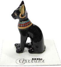 ➸ LITTLE CRITTERZ Cat Miniature Figurine Egyptian Cat Bastet