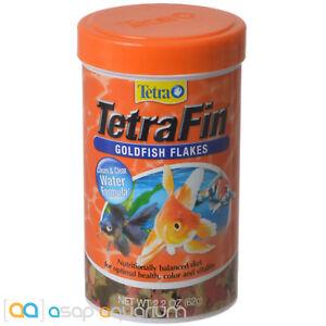 Tetra TetraFin Goldfish Flakes 2.2 oz Fast Free USA Shipping