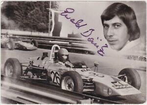 RARE Ewald Boisitz signed postcard, F1, F2, F3 photos - Surtees Austrian GP 1975