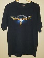 Men's Harley Davidson Florida USA Black T-Shirt  Short Sleeve Size XL - #AC