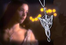 COLLANA CON CIONDOLO ARWEN EVENSTAR - Necklace Lord of the Rings Pendant Movie