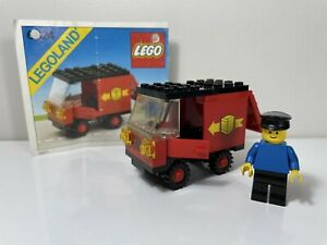 LEGO Vintage Set 6624-1 Delivery Van Classic Town With Instructions 1983