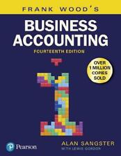Frank Wood's Business Accounting. 1 by Alan Sangster (author), Lewis Gordon (...