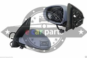 VOLKSWAGEN GOLF 5  7/2004-7/2009 LEFT HAND SIDE DOOR MIRROR ELECTRIC WITH LIGHT