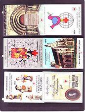 FRANCE BOOKLETS: (40) DIFFERENT SEMI-POSTALS #B471a//#B690b.  SCV $389