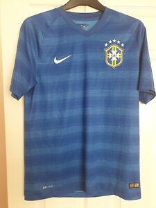 Brazil Away Shirt 2014 Excellent Condition Medium