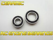 Traxxas RC performance ceramic  ENGINE BEARING set 7X17X5 MM & 12X21X5 MM