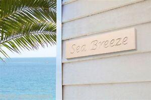 House Name Address Plaque - Sandstone