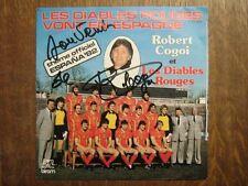 ROBERT COGOI 45 TOURS BELGIQUE FOOTBALL DIABLES ROUGES