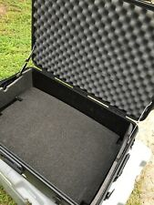 "Military Style Road Case 28""x18""x13"" Waterproof Storage Box With Removable Foam"